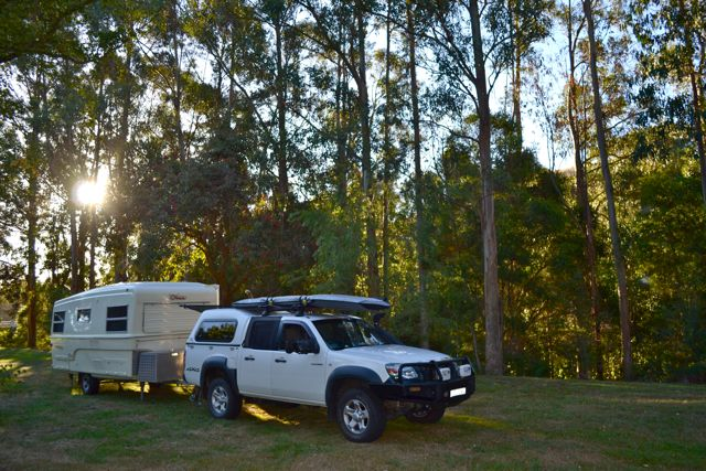 free camping Franklin Downs