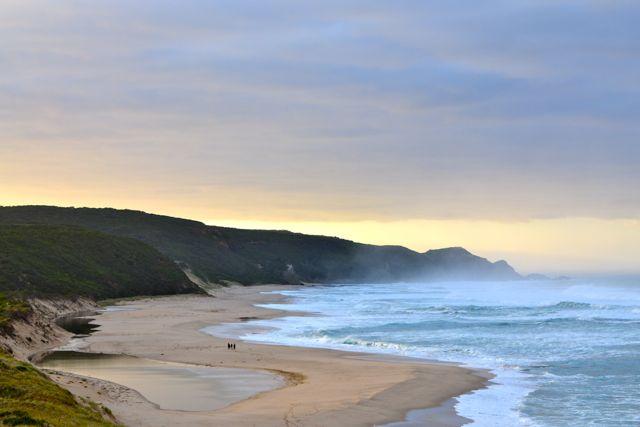 Johanna Beach sunes