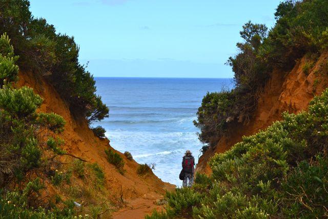 Johanna Beach sand dunes lookout