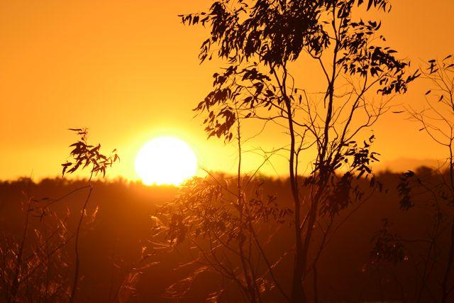 Glendinning Campground sunset