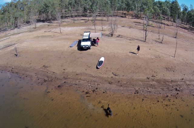 River bank near Glendinning Campground