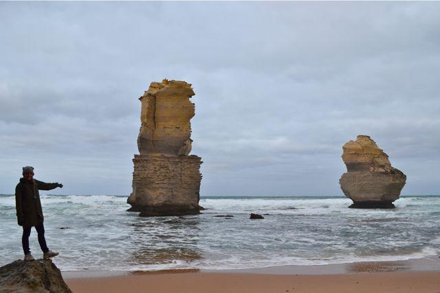 The Great Ocean Road Gog and Magog Laura