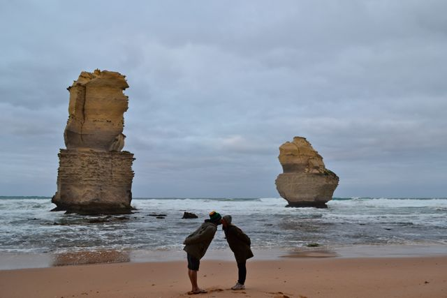 The Great Ocean Road Gog and Magog dawn