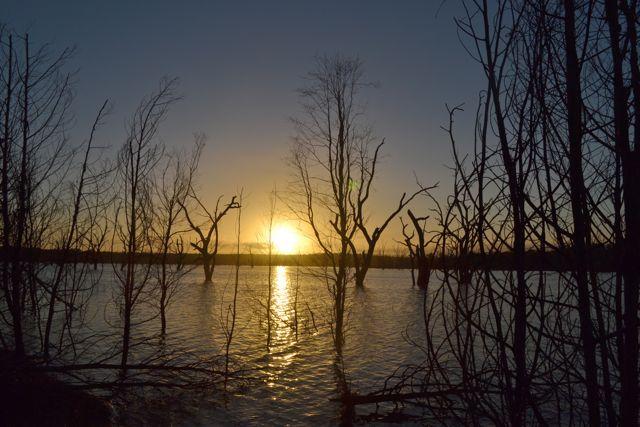 Glendinning Campground sunrise