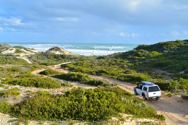 Beachport 4wd sand dunes