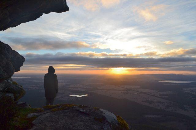 Boroka Lookout sunrise