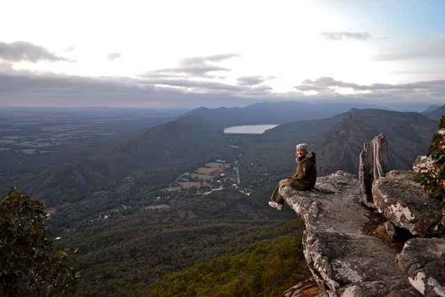 Boroka Lookout, the Grampians