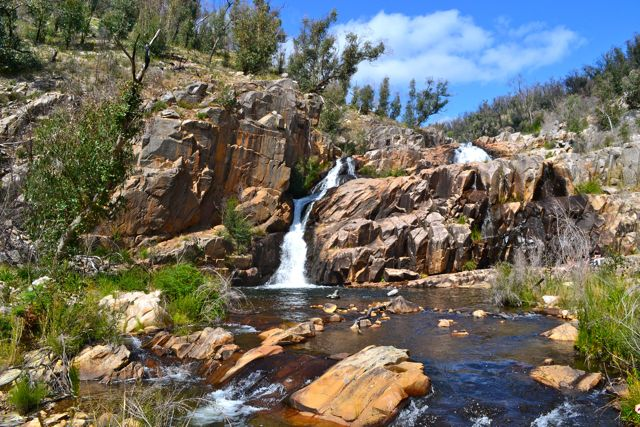 Fish Falls is about half an hour past Mackenzie Falls