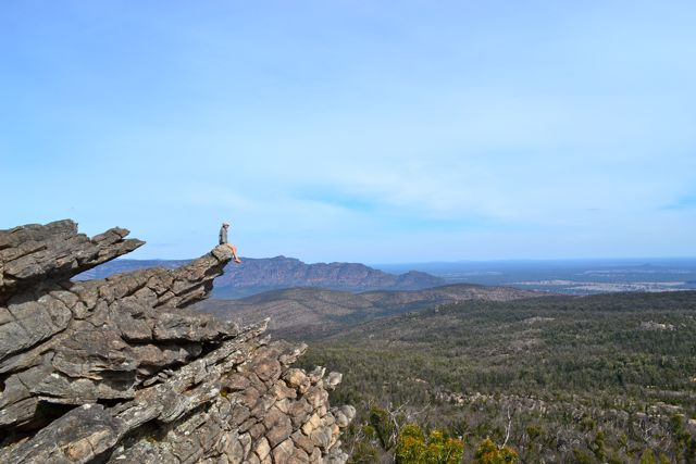 Grampians lookout 4WD access