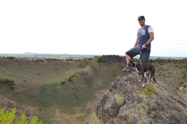 Mount Gambier volcano