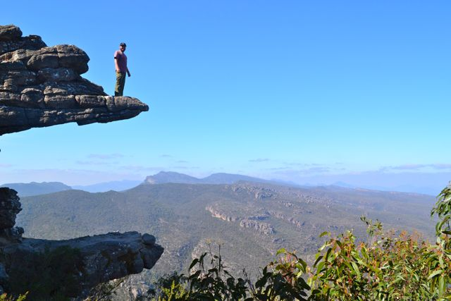 The Balconies, the Grampians