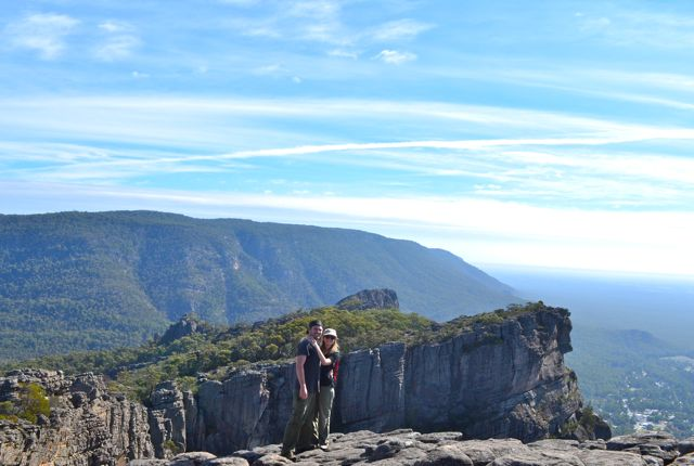 Pinnacle Lookout, the Grampians
