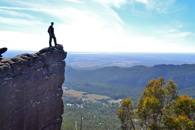 The Pinnacle Lookout, the Grampians