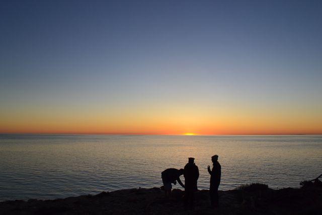 Yorke Peninsula sunset fire
