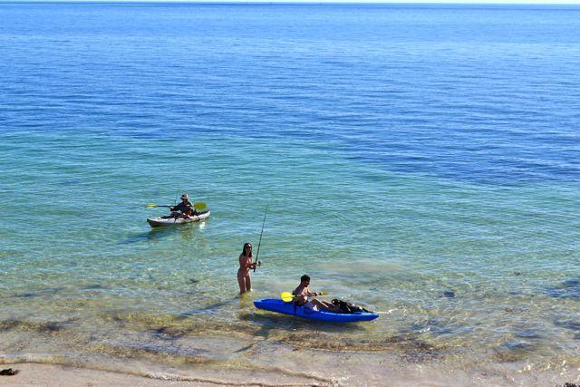 Cape Elizabeth kayaking