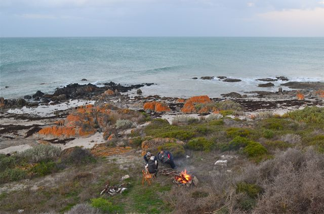 Yorke Peninsula camp fire