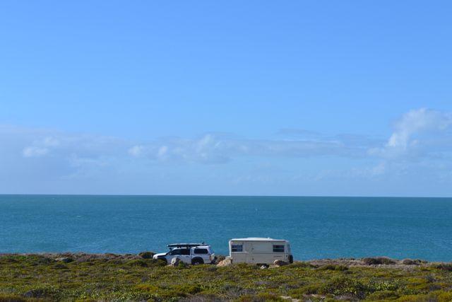 Yorke Peninsula Corny Bay campsite