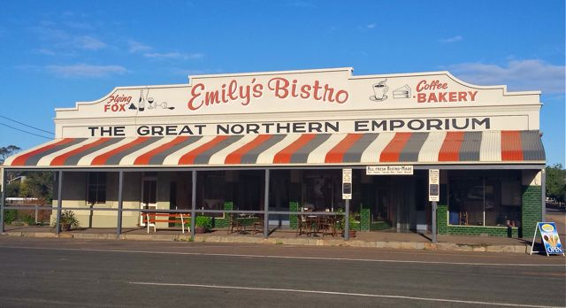 If you're lucky enough to visit Emily's Bistro we promise you won't run out of things to eat or look at