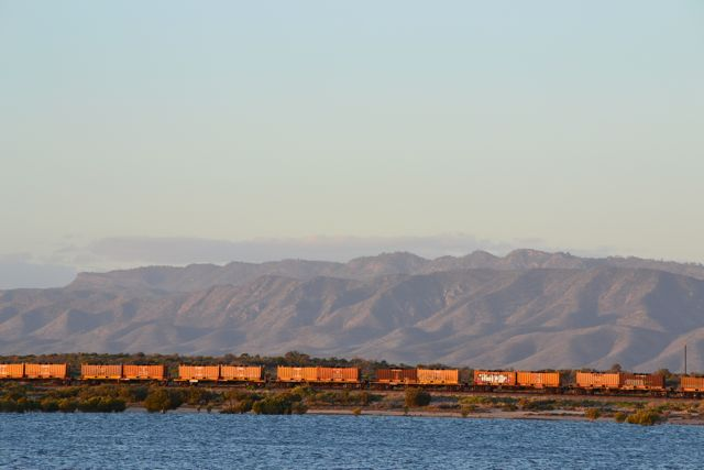 Port Augusta backdrop