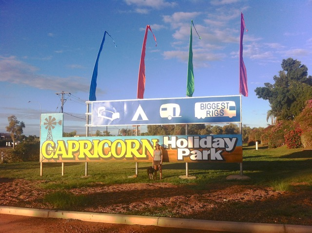 Our Carnarvon caravan park of choice