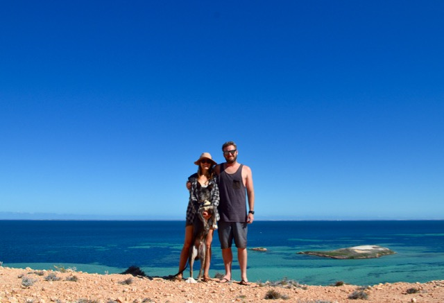 Shark Bay family portrait