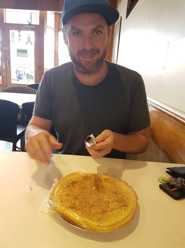 Port Lincoln custard tart