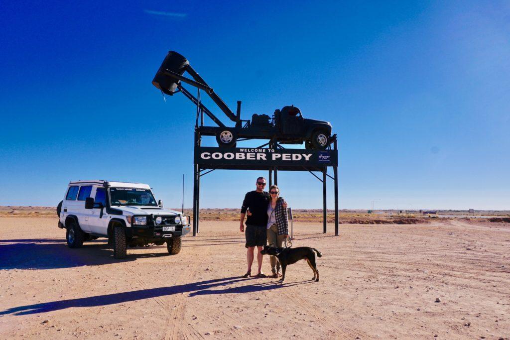 Cooper Pedy sign