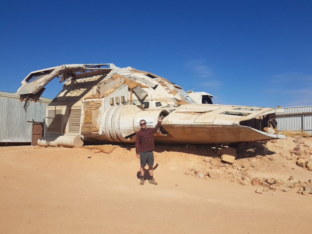 Coober Pedy spaceship