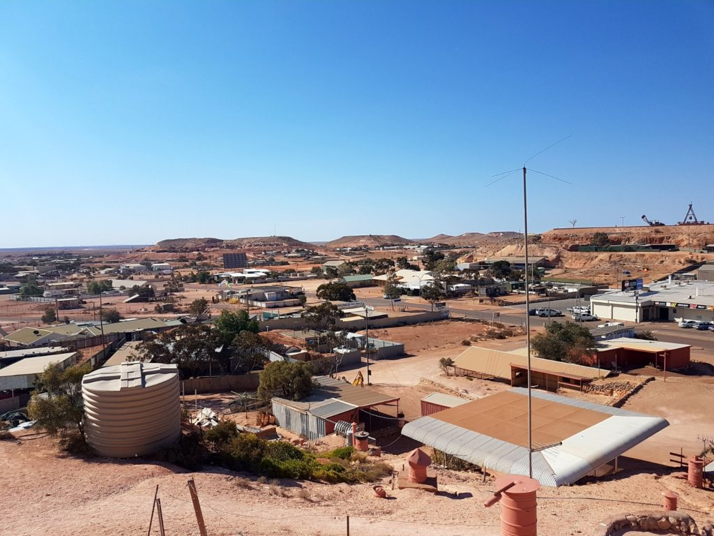 Coober Pedy birds eye